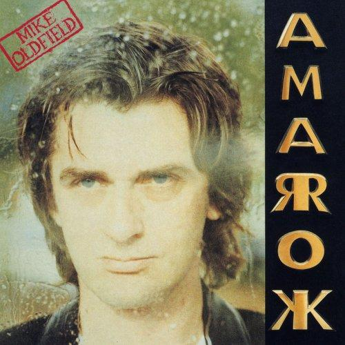 Mike Oldfield's Amarok album cover
