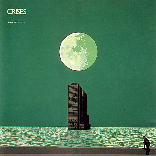 Mike Oldfield's Crises album cover