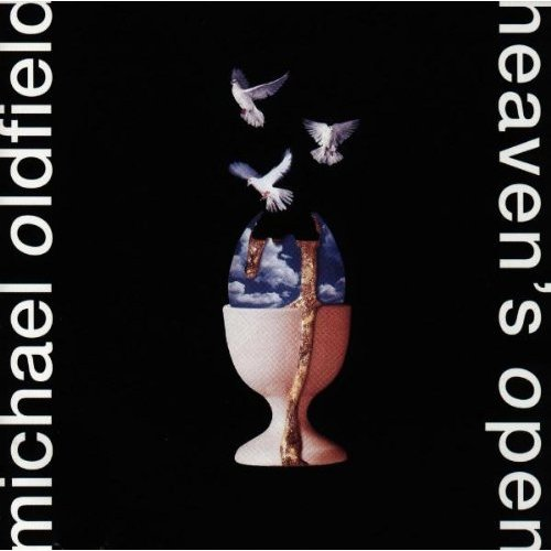 Mike Oldfield's Heaven's Open album cover