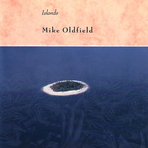 Mike Oldfield's Islands UK version cover