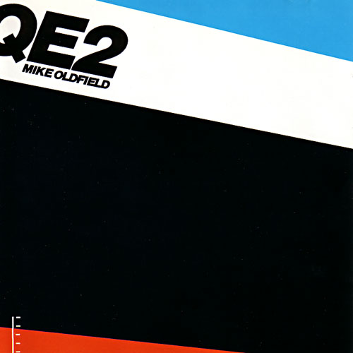 Mike Oldfield's QE2 album cover