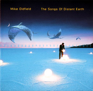 Mike Oldfield's The Songs Of The Distant Earth album cover