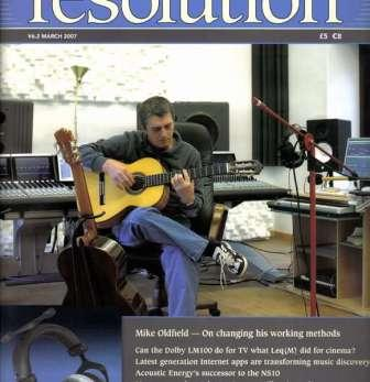 Resolution magazine's cover