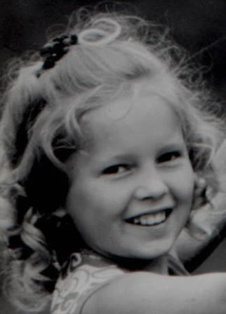 Anita hegerland in childhood