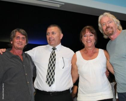 Mike Oldfield Richard Branson