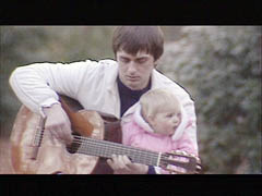 Mike Oldfield and his daughter Molly