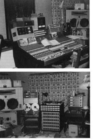 Mike Oldfield studio