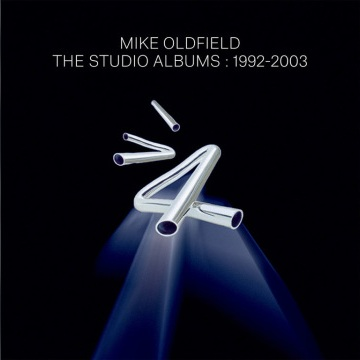 Mike Oldfield – The Studio Albums 1992-2003 cover